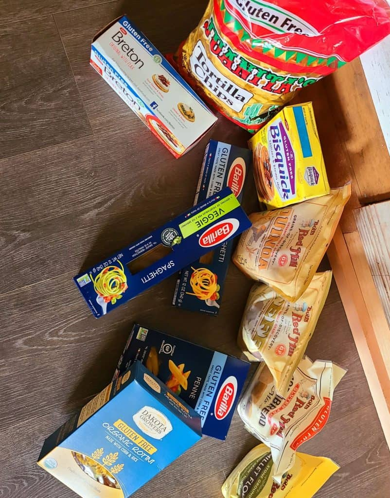 packed food products